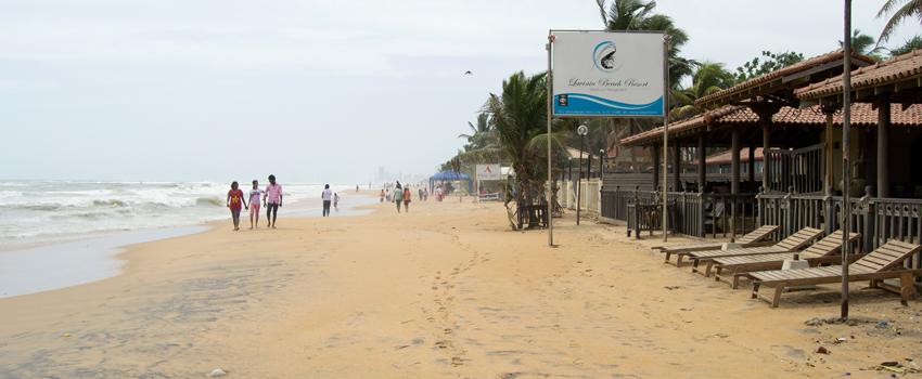 Beach near Colombo, Sri Lanka